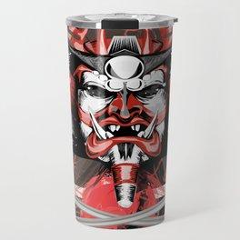 Samurai Flag Travel Mug