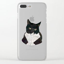 Mittens Clear iPhone Case