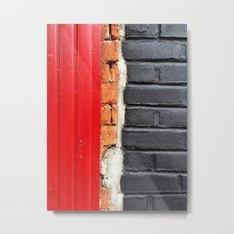 Walls Metal Print
