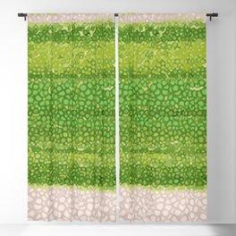 Leafs Stripes. green, white, stripes, nature, macro, leaf, leaves, decor, art, Society6. Blackout Curtain