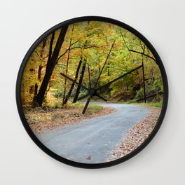 Autumn in the Capitol  Wall Clock