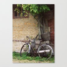 Cider House Bicycle Canvas Print