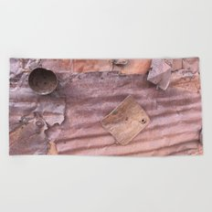 Metal memories Beach Towel