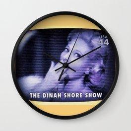 The Dinah Shore Show Wall Clock