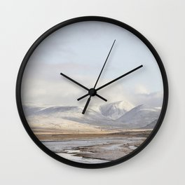 Mountains Are A Feeling II Wall Clock