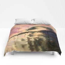 Dusk Murmuration Comforters