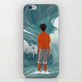Son of Poseidon - Whirlpool iPhone Skin