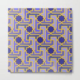 Moroccan pattern Metal Print