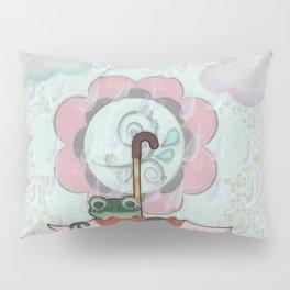 Rainy Day Frog Children's Art Pillow Sham
