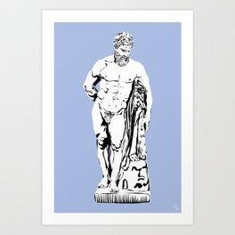 HERCULE Art Print