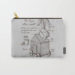 trojan rabbit Carry-All Pouch