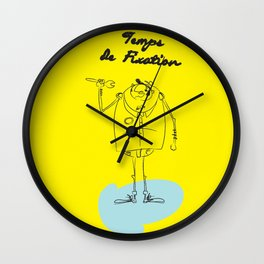 "The Ink - ""Fix"" Wall Clock"