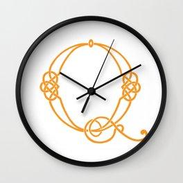 Celtic Knot Initial Q Wall Clock