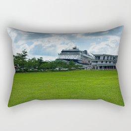 Singapore Cruise Ship Rectangular Pillow
