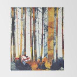 Autumn Hunt Throw Blanket