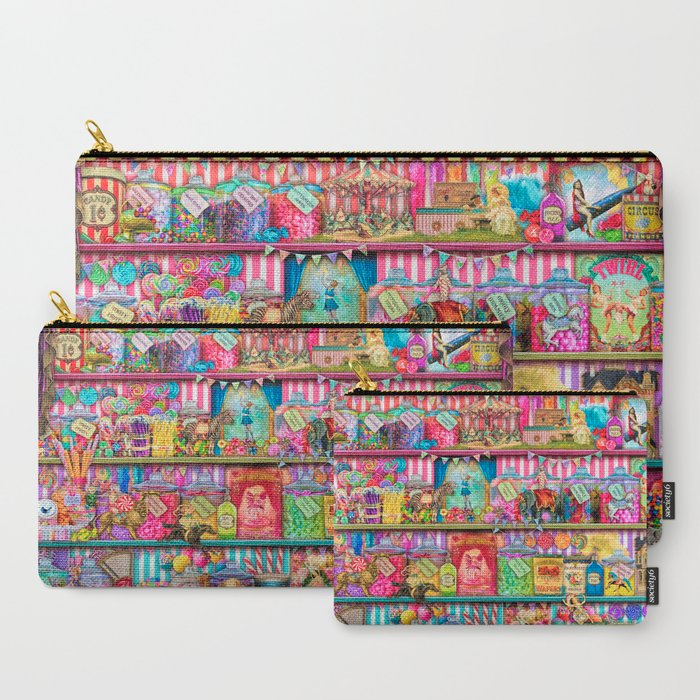 The Sweet Shoppe Carry-All Pouch