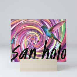 San Holo and Bird Mini Art Print