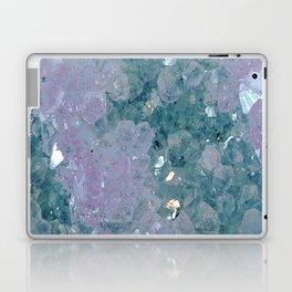 Teal Amethyst Laptop & iPad Skin