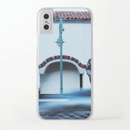 snake girl mural Clear iPhone Case