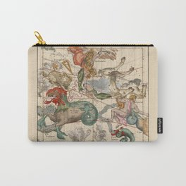 Constellations Andromeda, Pegasus, Cetus and Aries Carry-All Pouch