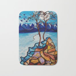 Moonlight Cypress Bath Mat