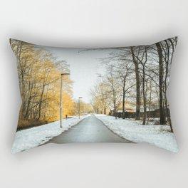 The snow Rectangular Pillow