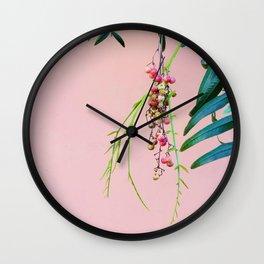 Pink / Green Wall Clock