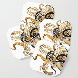 Metallic Octopus Coaster