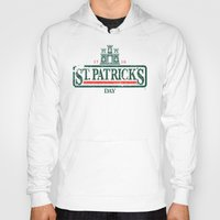 ale giorgini Hoodies featuring St. Patrick's Irish Ale by Nº3 Designs