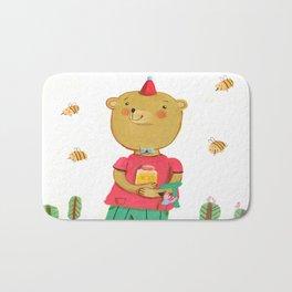 Honey Bear, Busy Bees Bath Mat