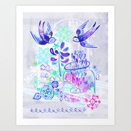 Summertime Kingdom Art Print