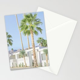 Modernist Desert, Palm Springs Stationery Cards