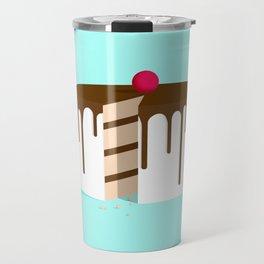 Cut Drip Cake Travel Mug