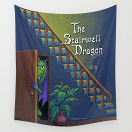 The Stairwell Dragon Wall Tapestry