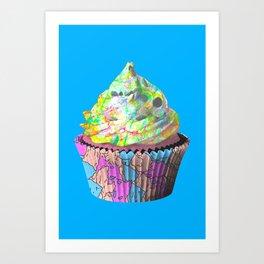 Addiction Pie Art Print