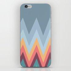 Retro Mountains iPhone & iPod Skin