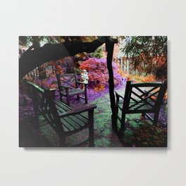 Enchanted Garden Metal Print