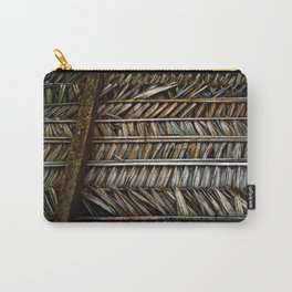 Thatched  Carry-All Pouch
