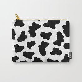 Moo Cow Print Carry-All Pouch