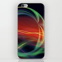 stargate iPhone & iPod Skins featuring The Gate Abstract by minx267