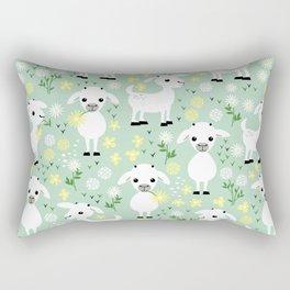 Baby goats Rectangular Pillow