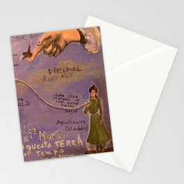 NEURAL ANOMALY Stationery Cards