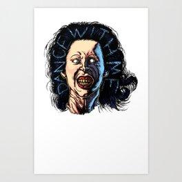 Evil Dead 2 Linda  Art Print