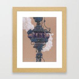 Bubble in the Line Framed Art Print