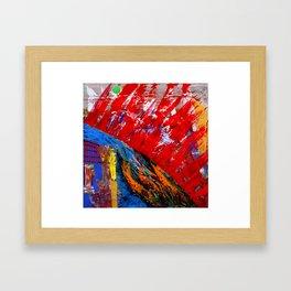 parallel world Framed Art Print