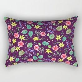 Etno flowers Rectangular Pillow