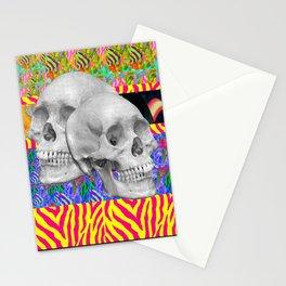 Skull Skull  Stationery Cards