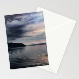 Sunset over Lake Geneva Stationery Cards