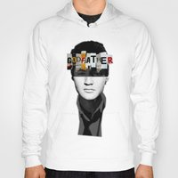 godfather Hoodies featuring Godfather Mix 2 black by Marko Köppe