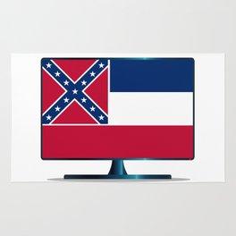 Mississippi Flag TV Rug